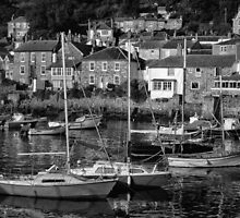 Mousehole harbour by Mortimer123