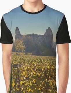 Burkheim, Kaiserstuhl - the castle Graphic T-Shirt