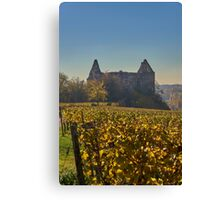 Burkheim, Kaiserstuhl - the castle Canvas Print