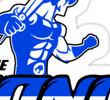 Detroit Lionos Sticker