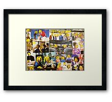 Experts in every area Framed Print