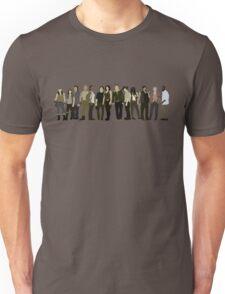 The Walking Dead Cast 2015/16 Unisex T-Shirt