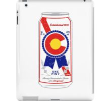 Colorado Blue Ribbon iPad Case/Skin