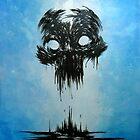 Inky Skull by thedarkcloak