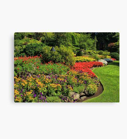 Butchart Gardens 2 Canvas Print