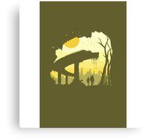 Minimalism illustration - The Last of Us Canvas Print