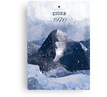 Eiger Mountain Canvas Print