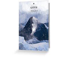 Eiger Mountain Greeting Card