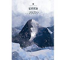 Eiger Mountain Photographic Print