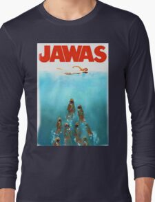 funny star wars jawas tshirt Long Sleeve T-Shirt