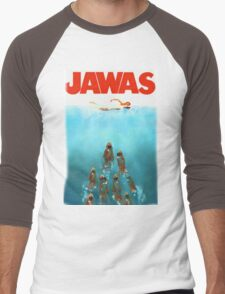 funny star wars jawas tshirt Men's Baseball ¾ T-Shirt