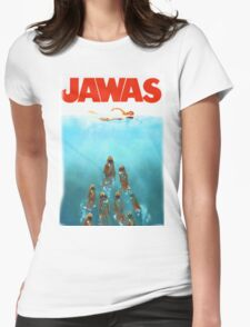 funny star wars jawas tshirt Womens Fitted T-Shirt