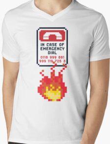 For Better Looking Responders Dial... Mens V-Neck T-Shirt