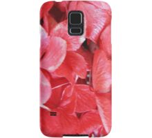 Red Flowers Samsung Galaxy Case/Skin