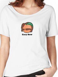 Fuzzy Man Peach Women's Relaxed Fit T-Shirt