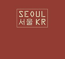 Seoul, Korea phone case by MonsterCrossing
