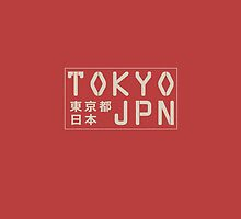 Tokyo, Japan phone case by MonsterCrossing