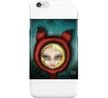 Whimsical Fox Girl iPhone Case/Skin
