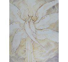 tall angel Photographic Print