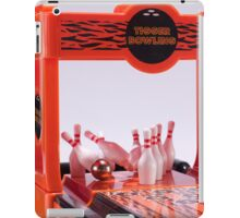 Ten pin bowling iPad Case/Skin