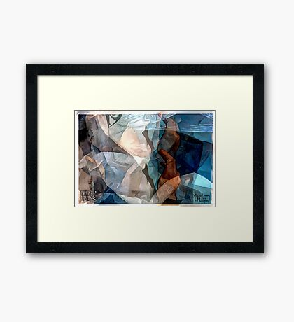 Kimura - Abstract Framed Print