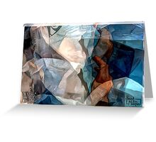Kimura - Abstract Greeting Card