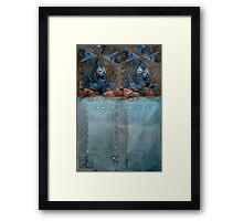 Worth The Work - Abstract Framed Print