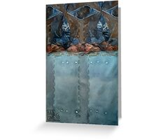 Worth The Work - Abstract Greeting Card
