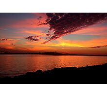 san francisco sunset Photographic Print
