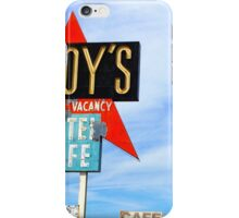 Roy's Motel and Cafe, Amboy, CA iPhone Case/Skin
