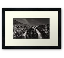 Waterfalls, Killantringan Bay Framed Print