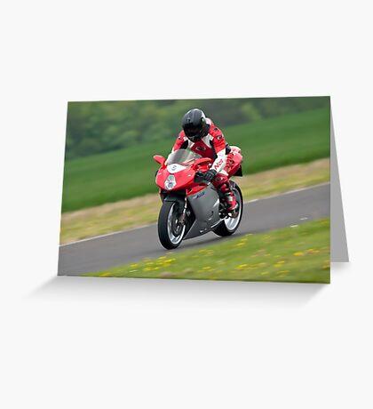 MV Augusta F4 motorcycle Greeting Card