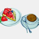 Berry Tart and Espresso by joeyartist