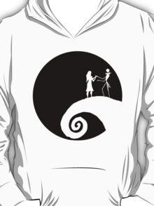 Minimalistic Love (Nightmare Before Christmas Fan Art) T-Shirt