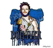 BON IVER Watercolour - ACMAY Photographic Print