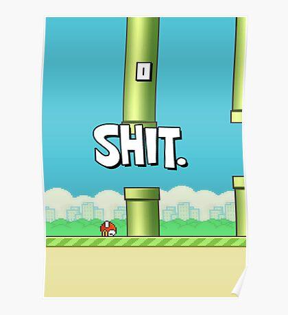 Flappy bird Fail Poster