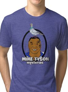 Mike Tyson Mysteries Graphic Tri-blend T-Shirt
