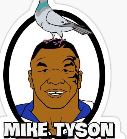 Mike Tyson Mysteries Graphic Sticker