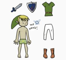 Dress Up Link! Sticker set by Reshma Zachariah