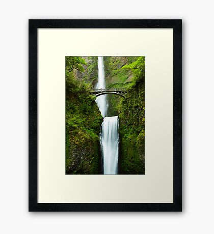 Earth and Water Framed Print