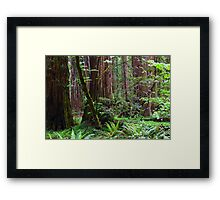 Cathedral of Giants Framed Print