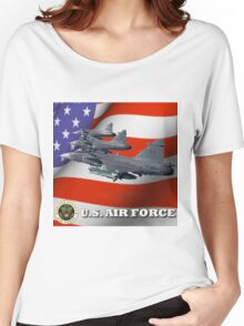U.S. Airforce Women's Relaxed Fit T-Shirt