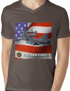U.S. Airforce Mens V-Neck T-Shirt