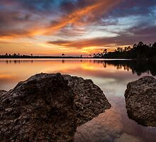 The Light at Pine Glades Lake by PeaceInArt