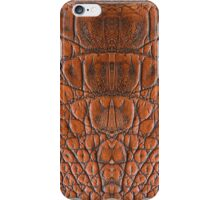 Leather Skin Texture Chain Metalic Art iPhone Case/Skin