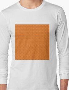 channel, ORANGE Long Sleeve T-Shirt