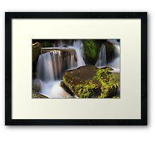 Smoky Mountains Cascade Framed Print
