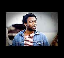 Donald Glover / Childish Gambino iPhone 4 Case by broe7788