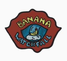 Banana Waterfall T-Shirt Kids Clothes