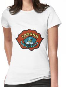 Banana Waterfall T-Shirt Womens Fitted T-Shirt
